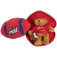Iowa State Cyclones Stuffed Bear in a Ball - Football