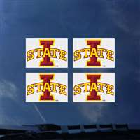 Iowa State Cyclones Transfer Decals - Set of 4