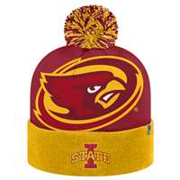Iowa State Cyclones Top of the World Blaster Knit Beanie