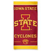 Iowa State Cyclones Cotton Fiber Beach Towel