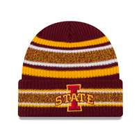 Iowa State Cyclones New Era Vintage Stripe Beanie