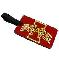 Iowa State Cyclones Soft Luggage/Bag Tag