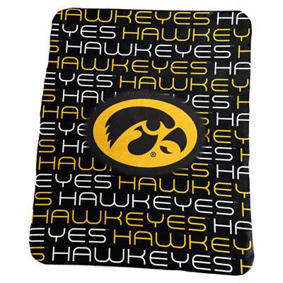 Iowa Hawkeyes Classic Fleece Blanket