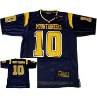 West Virginia Mountaineers Youth Colosseum Rivalry Printed Fb Jersey - #10