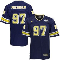 Michigan Wolverines Youth Football Jersey By Colosseum - #10