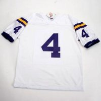 Lsu #4 Football Jersey - Youth