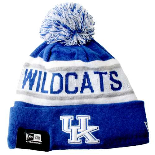 00e727eb5990a Kentucky Wildcats New Era Biggest Fan Knit Beanie