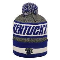 66022febe99 ... Kentucky Wildcats Top of the World Cumulus Pom Knit Beanie ...