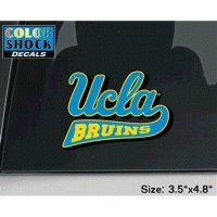 Ucla Bruins Decal - Ucla Over Bruins