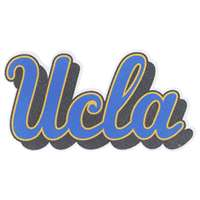 UCLA Bruins Perforated Vinyl Window Decal - Script UCLA