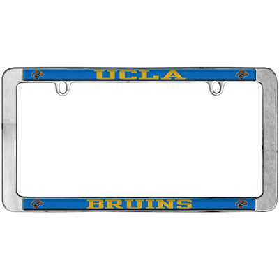 UCLA Bruins Thin Metal License Plate Frame