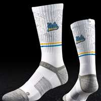 UCLA Bruins Strapped Fit 2.0 Socks - White