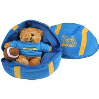 UCLA Bruins Stuffed Bear in a Ball - Football