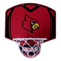 Louisville Cardinals Mini Basketball And Hoop Set