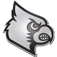 Louisville Cardinals Chrome Auto Emblem