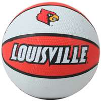 Louisville Cardinals Mini Rubber Basketball