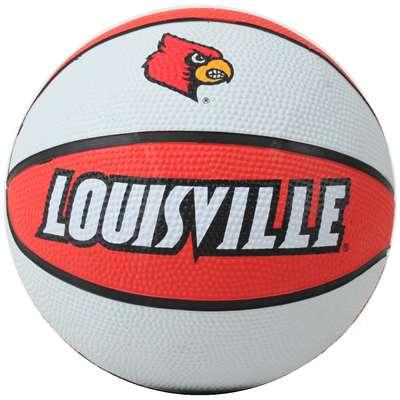 Louisville Cardinals Mini Rubber Basketball