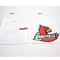 Louisville T-shirt - Logo Front And Back, White