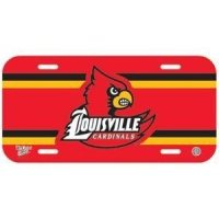 Louisville Plastic License Plate