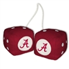 Alabama Crimson Tide Fuzzy Dice