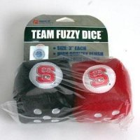 North Carolina State Fuzzy Dice