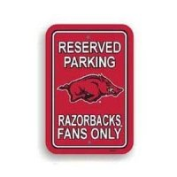 Arkansas Plastic Parking Sign
