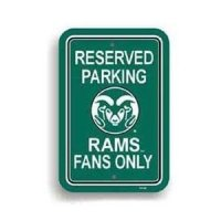 Colorado State Plasitc Parking Sign