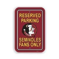 Florida State Plastic Parking Sign
