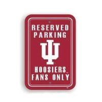 Indiana Plastic Parking Sign