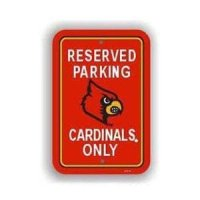 Louisville Plastic Parking Sign