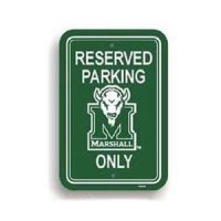 Marshall Plastic Parking Sign