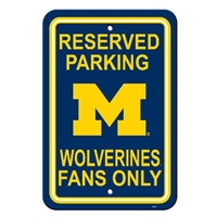 Michigan Plastic Parking Sign