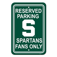 Michigan State Plastic Parking Sign
