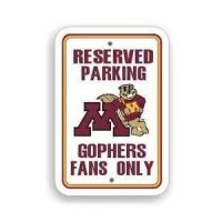 Minnesota Plastic Parking Sign