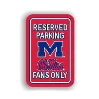 Mississippi Plastic Parking Sign