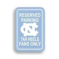 North Carolina Plastic Parking Sign