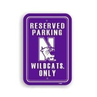 Northwestern Plastic Parking Sign