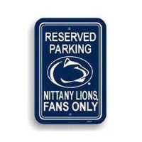 Penn State Plastic Parking Sign