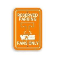 Tennessee Plastic Parking Sign