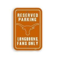 Texas Plastic Parking Sign