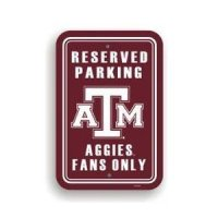 Texas A&m Plastic Parking Sign