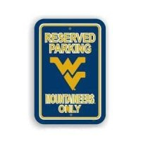 West Virginia Plastic Parking Sign