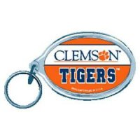 Clemson Acrylic Key Ring