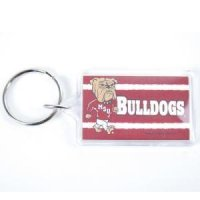 Mississippi State Acrylic Key Ring