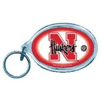 Nebraska Acrylic Key Ring