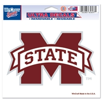 "Mississippi State Ultra Decals 5"" X 6"""