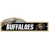 Colorado Buffaloes Street/zone Sign