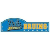 Ucla Street/zone Sign