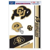 Colorado Buffaloes Ultra Decal - 11'' X 17''