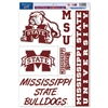 Mississippi State Ultra Decal - 11'' X 17''
